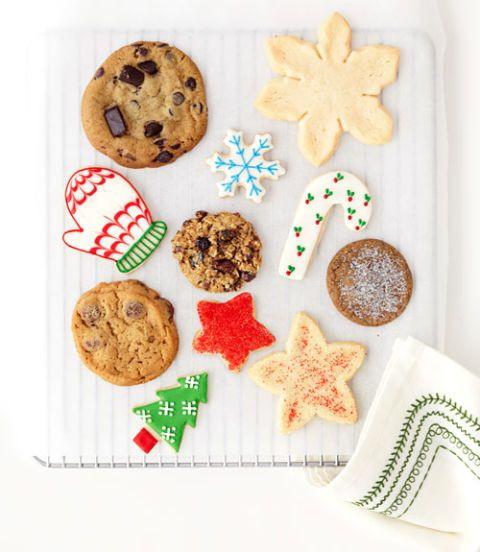 Premade Christmas Cookies  Christmas Cutout Cookies Slice and Bake Cookies for