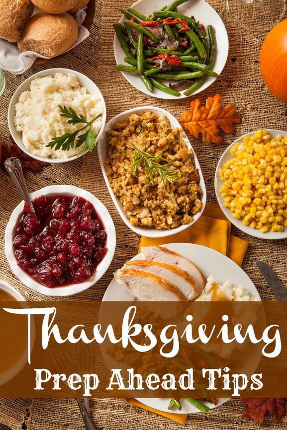 Prep A Turkey For Thanksgiving  Thanksgiving Prep Ahead Tips