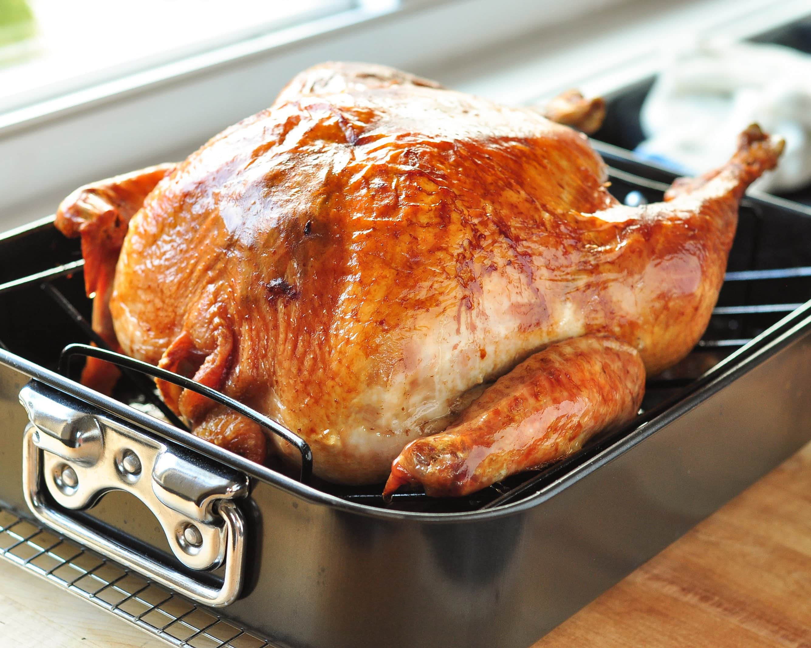 Prepare Thanksgiving Turkey  How To Cook a Turkey The Simplest Easiest Method