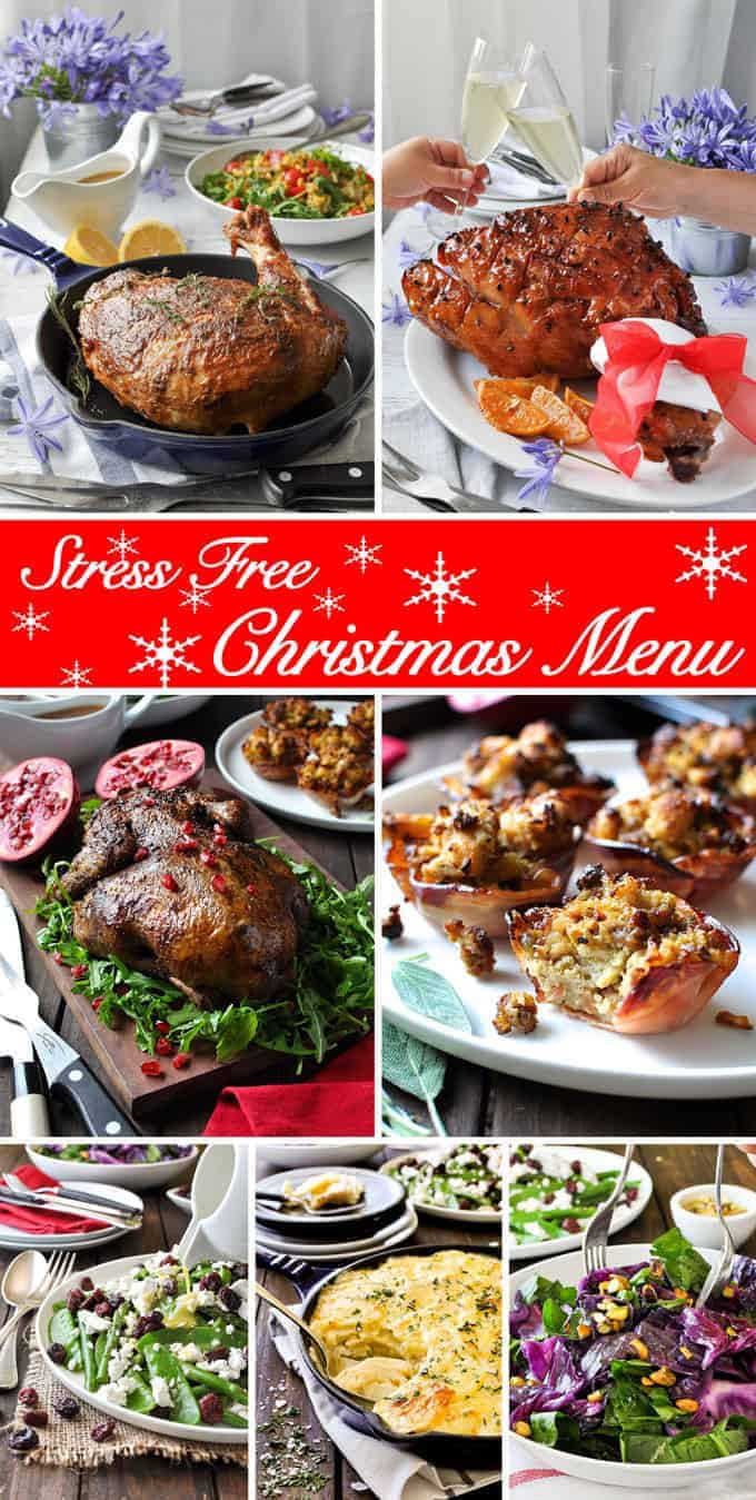 Prepared Christmas Dinners To Go  Christmas Special 7 Course Easy Christmas Menu