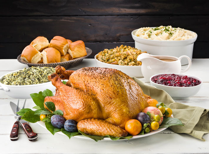 Prepared Thanksgiving Turkey  Order Thanksgiving Dinner line Sprouts