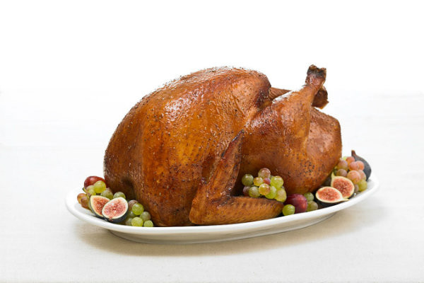 Prepared Thanksgiving Turkey  A few helpful facts and tips to reduce Thanksgiving food