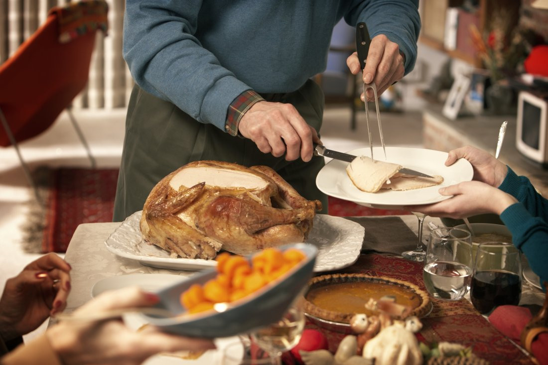 Prepared Thanksgiving Turkey  Thanksgiving and Trump How to Avoid Political Arguments