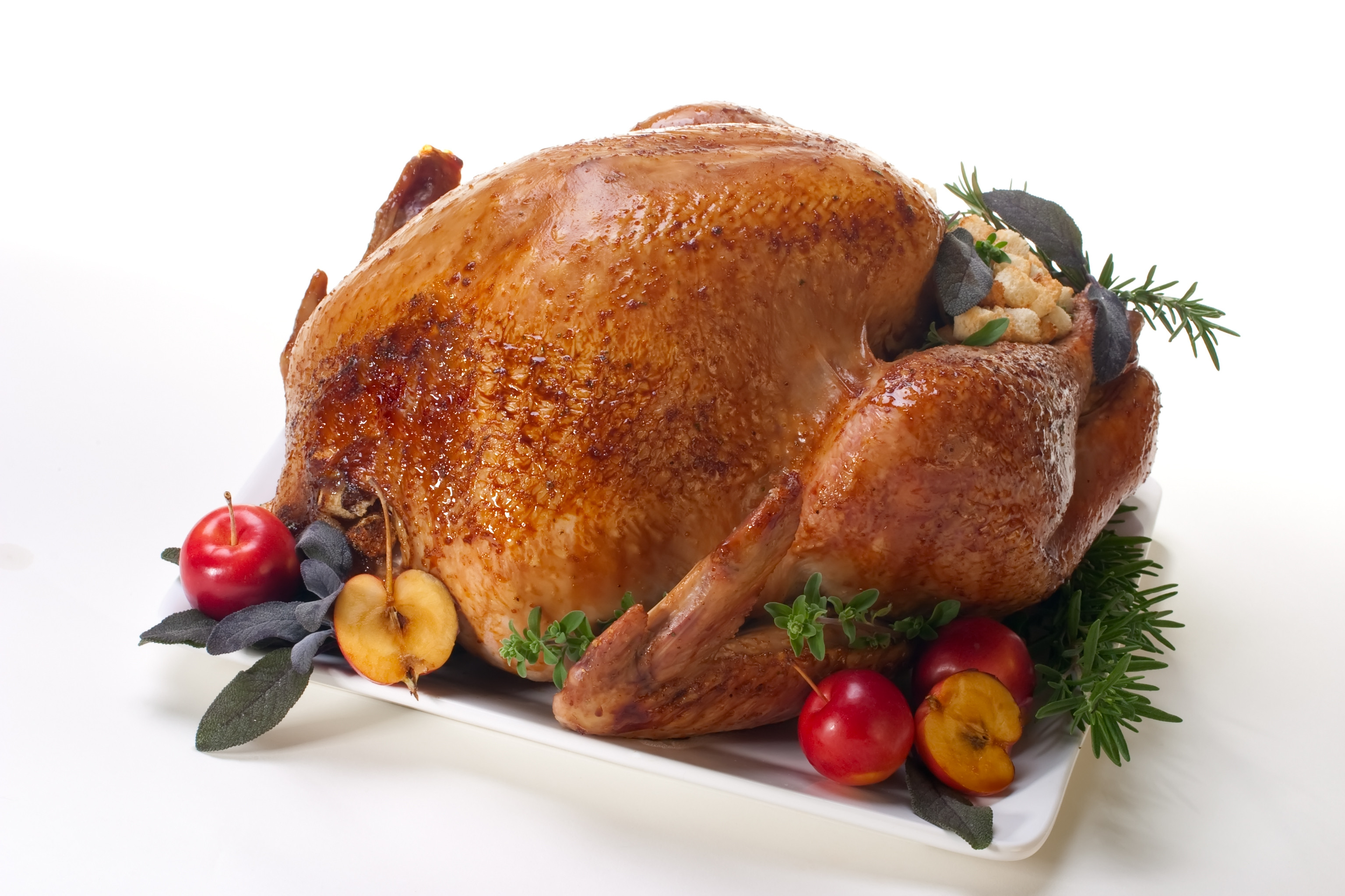 Prepared Turkey For Thanksgiving  cooked turkey
