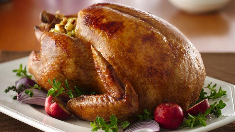 Prepared Turkey For Thanksgiving  Roast Turkey Recipe BettyCrocker
