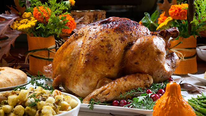 Prepared Turkey For Thanksgiving  Thanksgiving dinner s carbon footprint A state by state