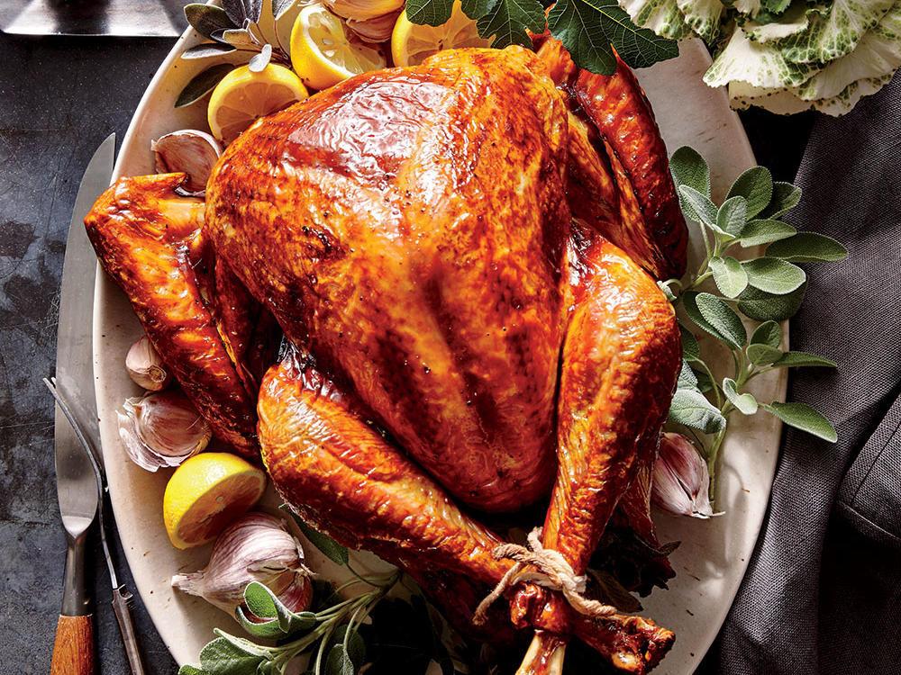 Prepared Turkey For Thanksgiving  Tuscan Turkey Recipe Cooking Light