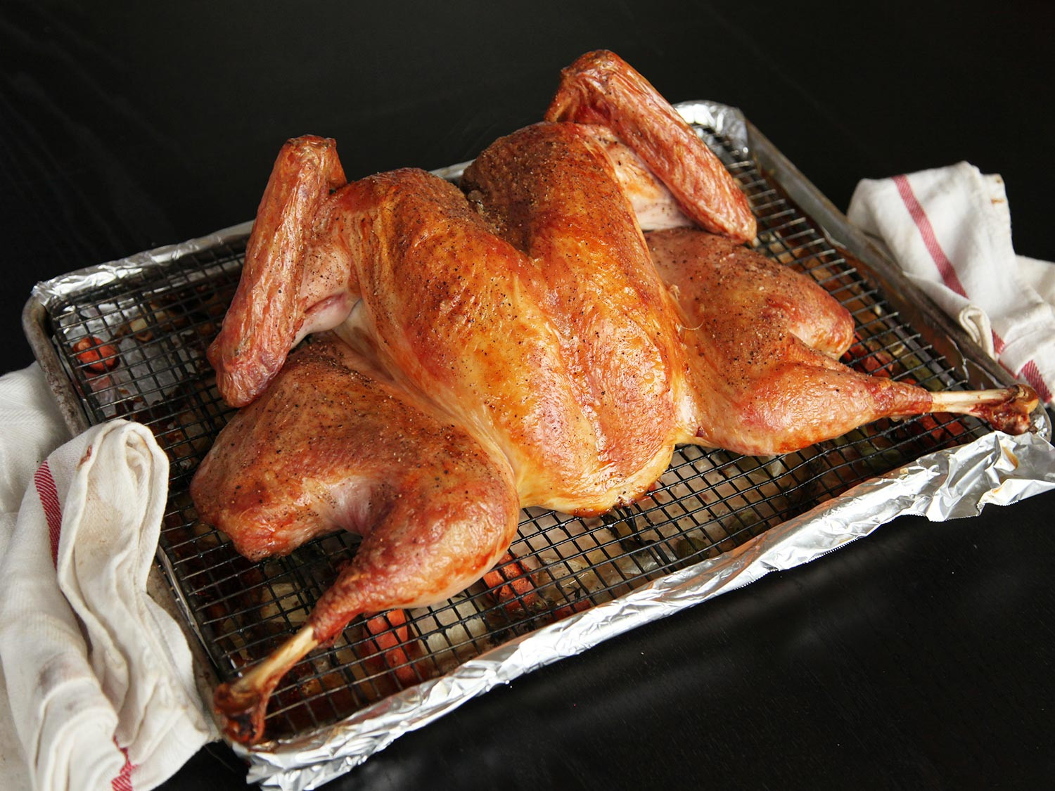 Prepared Turkey For Thanksgiving  It s 2014 and Spatchcocking Is Still the Fastest Easiest