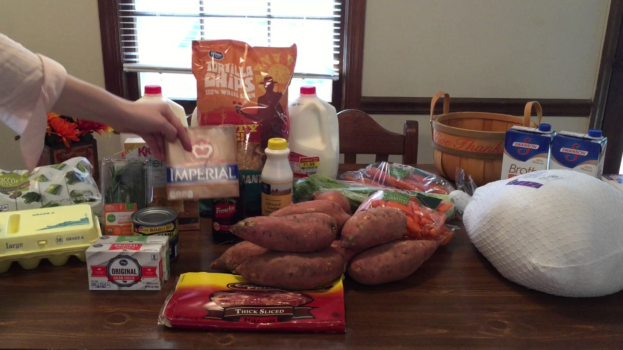 Publix Thanksgiving Turkey  Thanksgiving Gluten Free Grocery Haul
