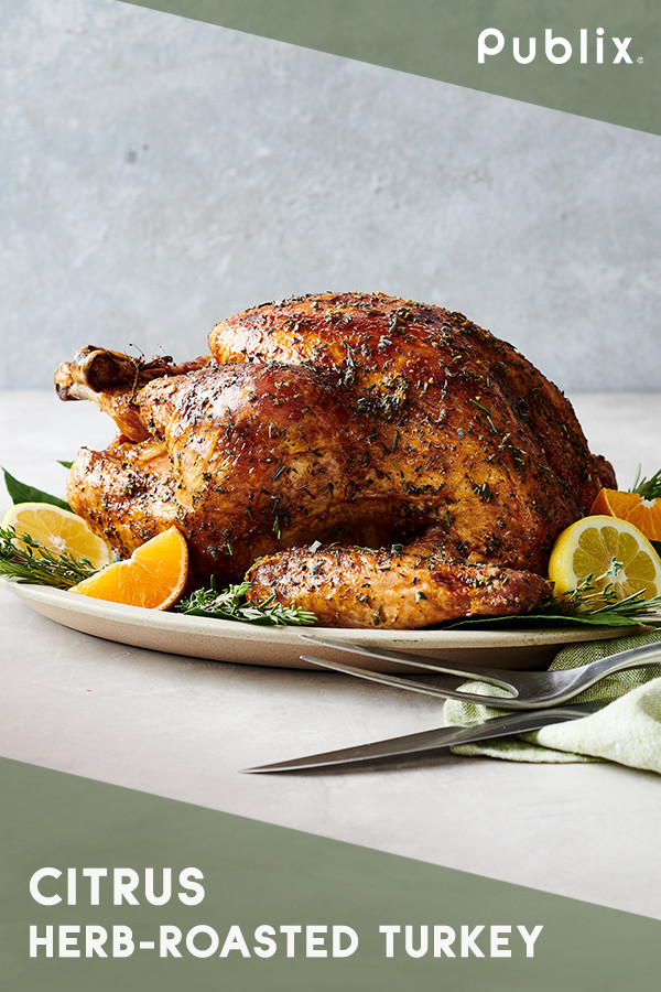 Publix Thanksgiving Turkey  Brighten up your traditional Thanksgiving with this Publix