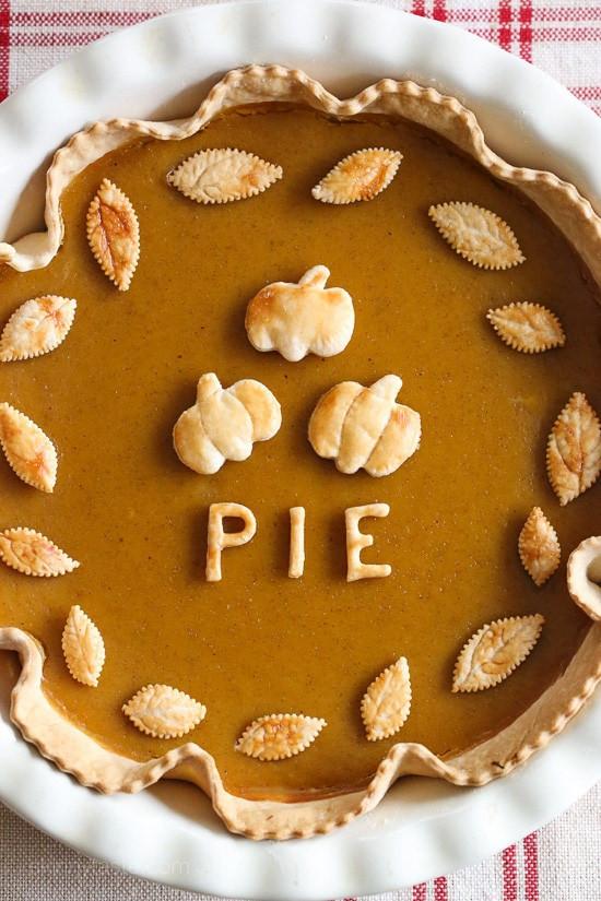 Pumpkin Pie Thanksgiving  Skinny Pumpkin Pie Skinnytaste