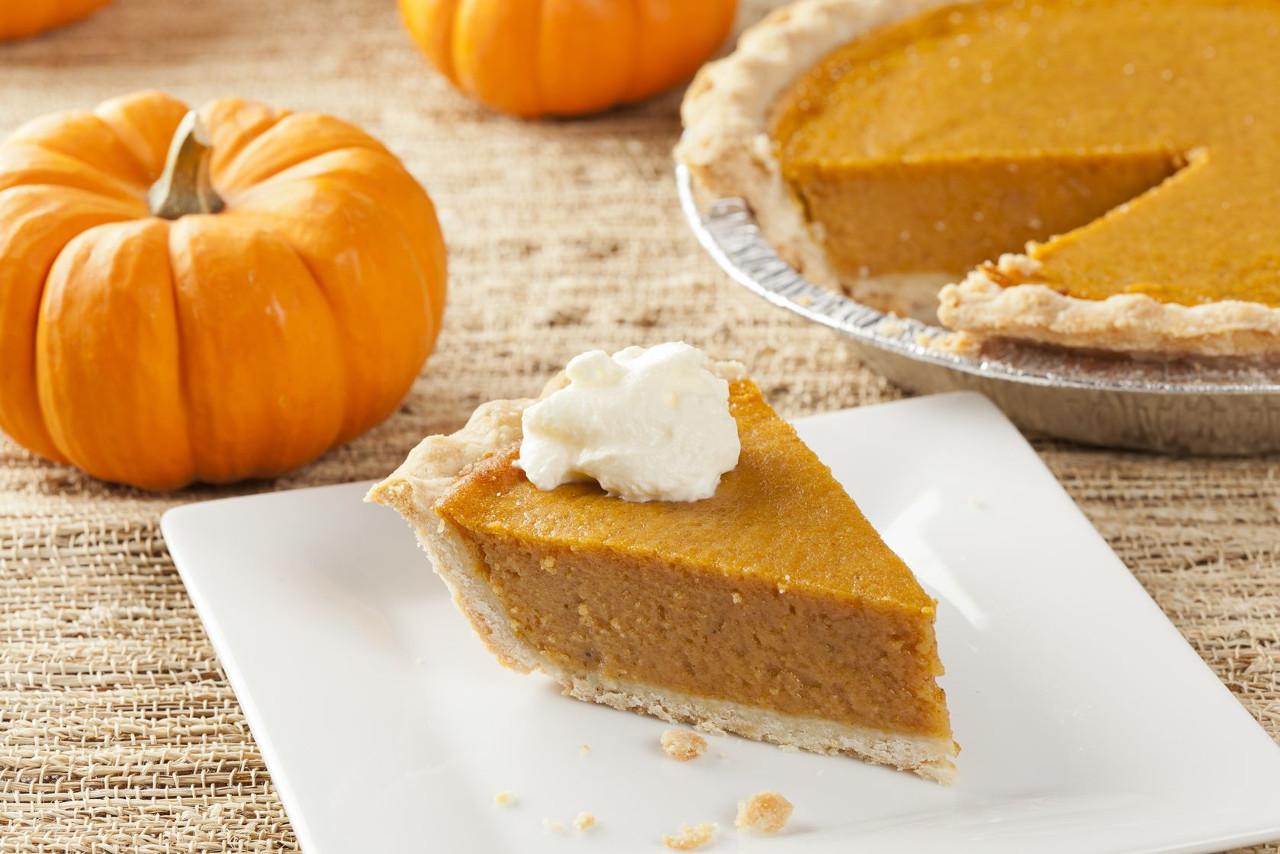 Pumpkin Pie Thanksgiving  WatchFit Cut the Calories Healthy Pumpkin Pie