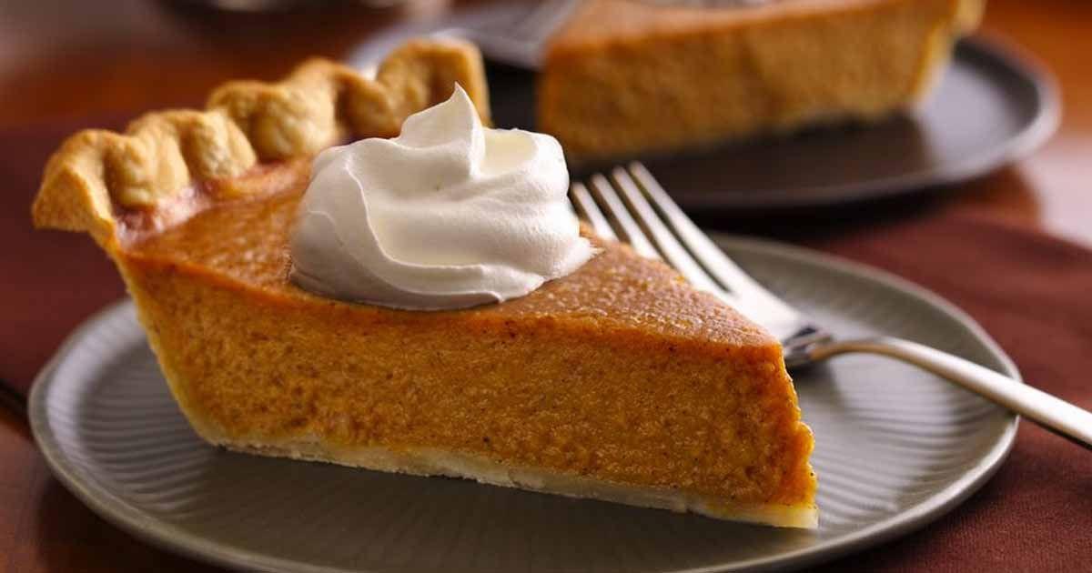 Pumpkin Pie Thanksgiving  FRIENDS Thanksgiving Pumpkin Pie Recipe