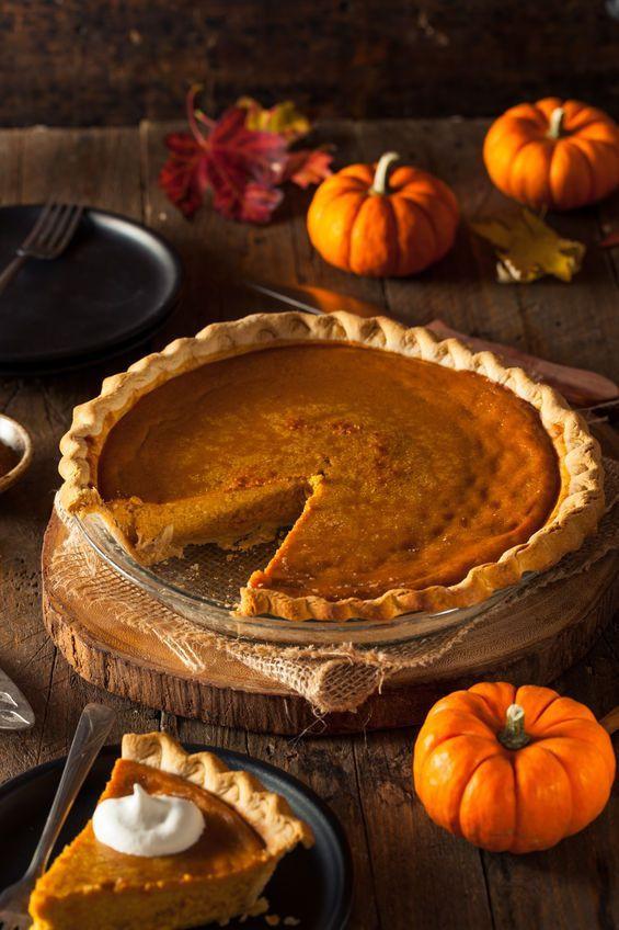 Pumpkin Pie Thanksgiving  Easy Thanksgiving Pumpkin Pie