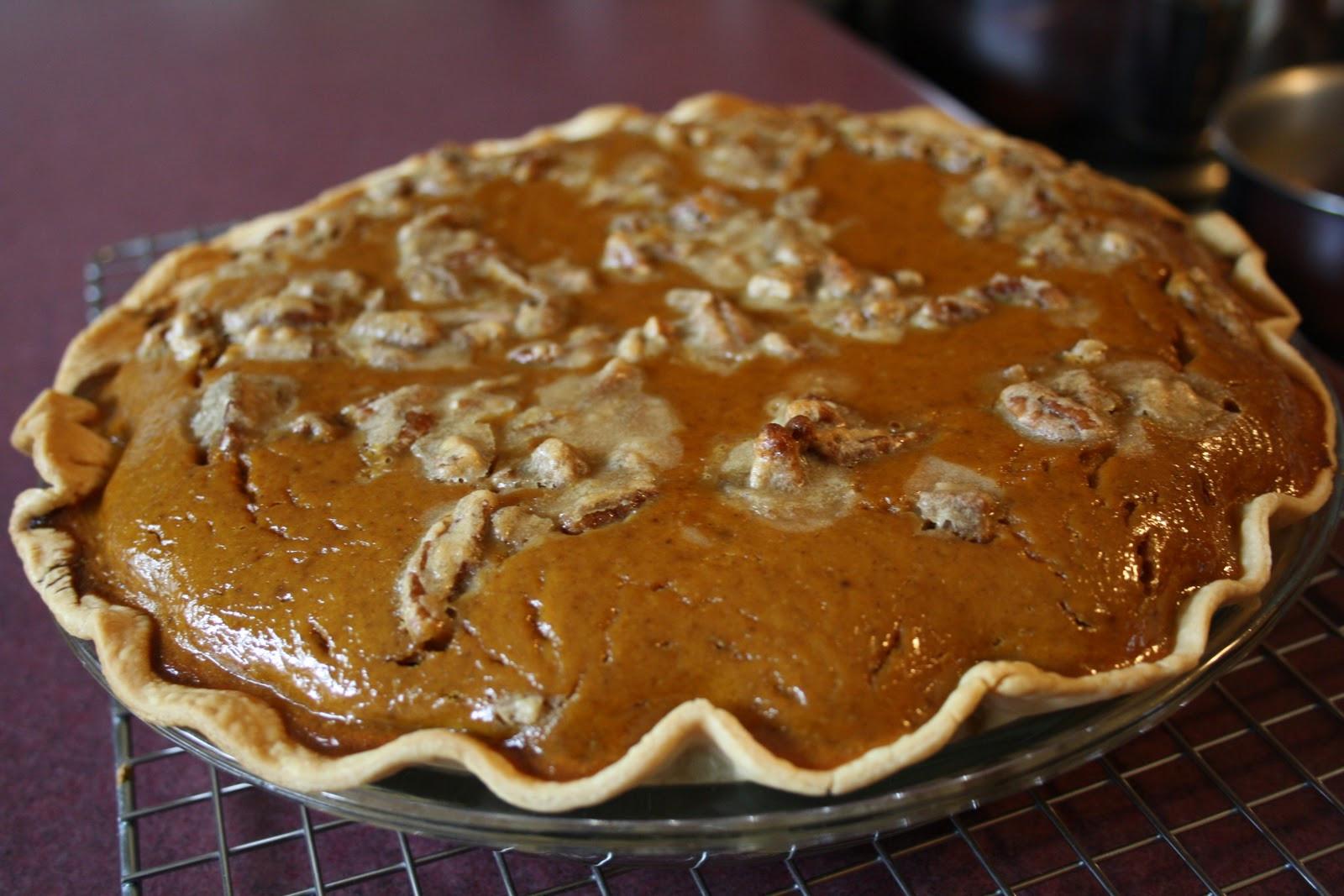 Pumpkin Pie Thanksgiving  Meals with Michelle Turkey & Pumpkin Pie Happy
