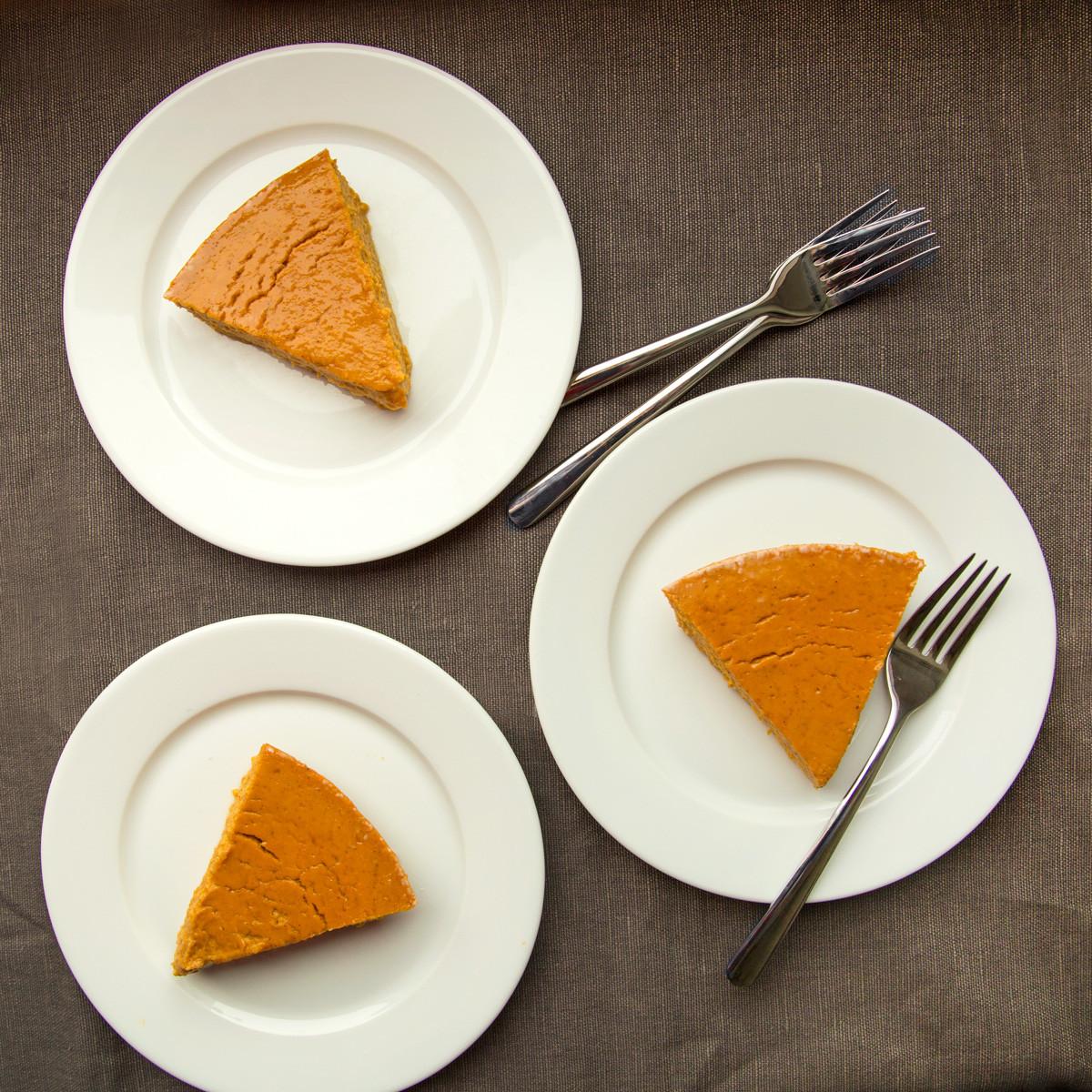 Pumpkin Pie Thanksgiving  2 Thanksgiving Pumpkin Pies
