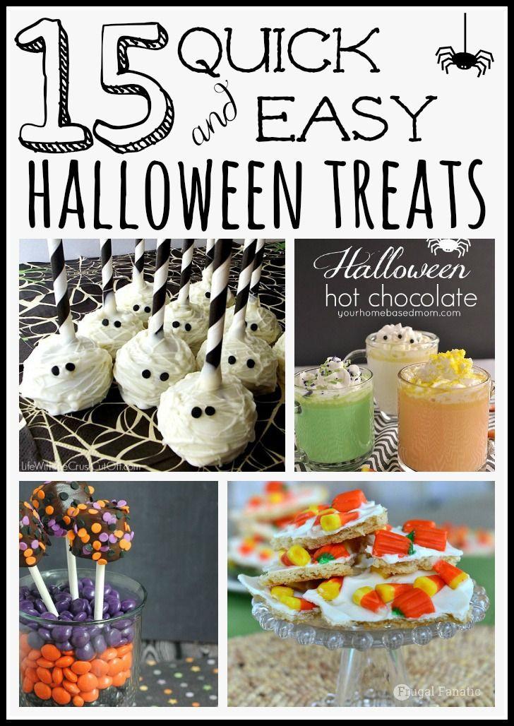 Quick Halloween Desserts  Best 25 Quick easy halloween costumes ideas on Pinterest