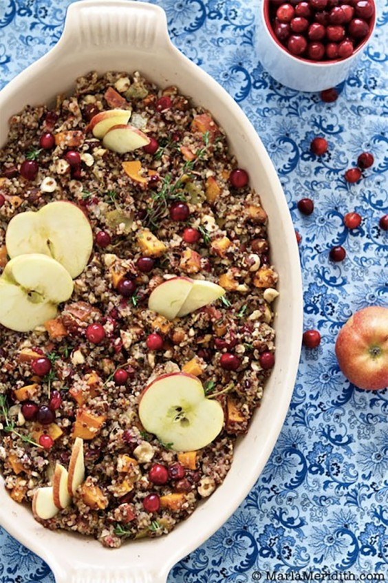 Quinoa Thanksgiving Recipe  Ve arian Thanksgiving Recipes 33 Meals Made With Real