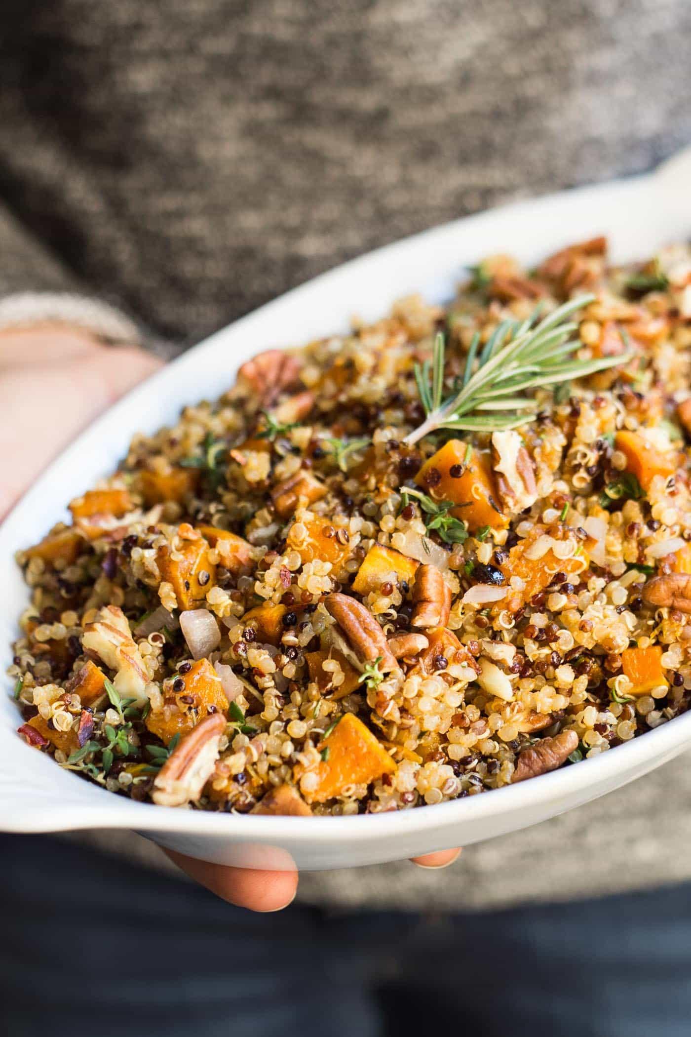 Quinoa Thanksgiving Recipe  Easy Quinoa Stuffing Recipe Simply Quinoa