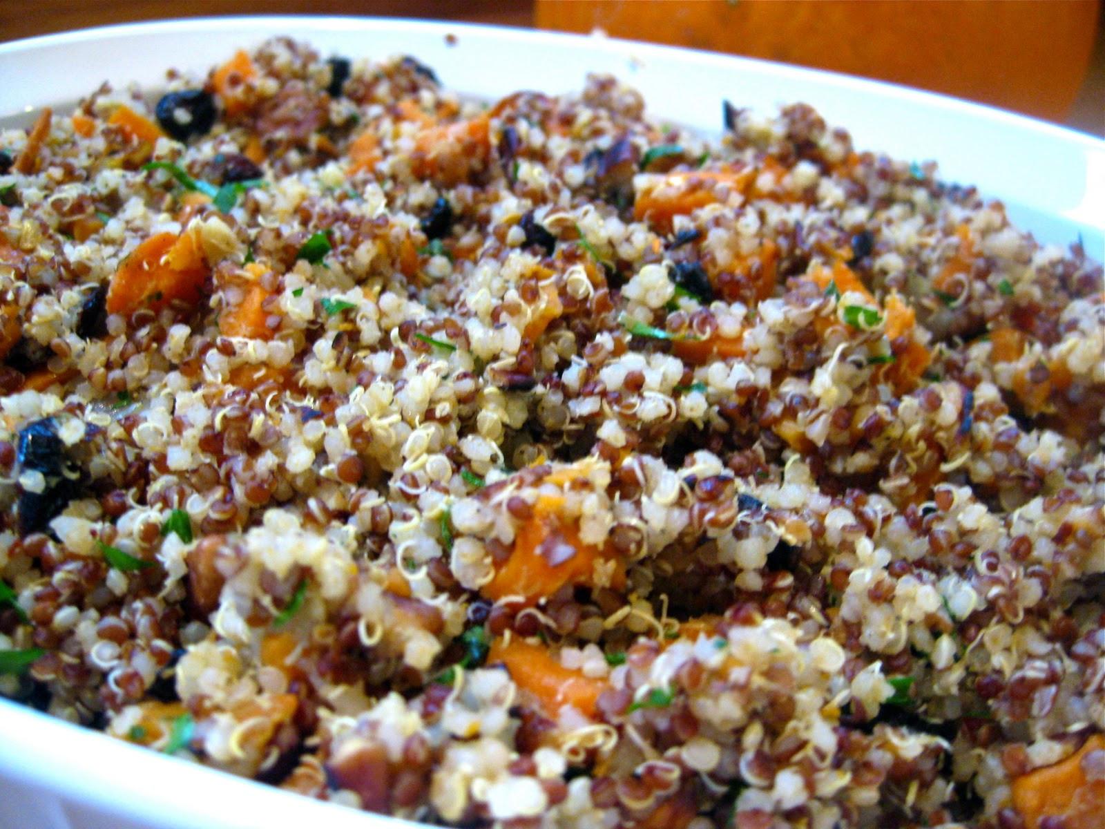 Quinoa Thanksgiving Recipe  Quinoa Stuffing Recipe Gluten Free & Vegan