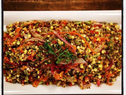 Quinoa Thanksgiving Recipe  Thanksgiving recipe Quinoa and Lentil Salad