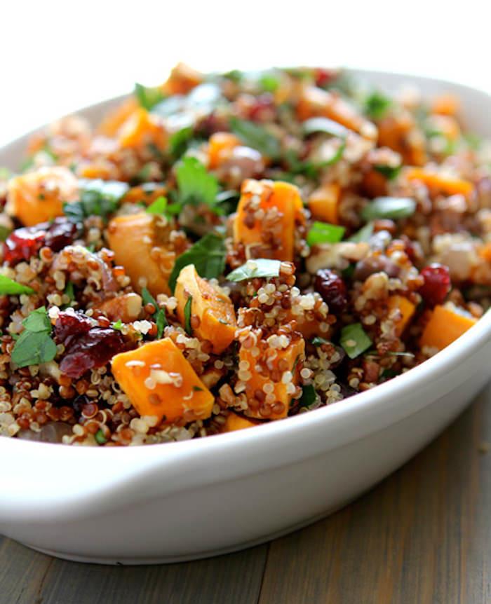 Quinoa Thanksgiving Recipe  28 Delicious Vegan Thanksgiving Recipes