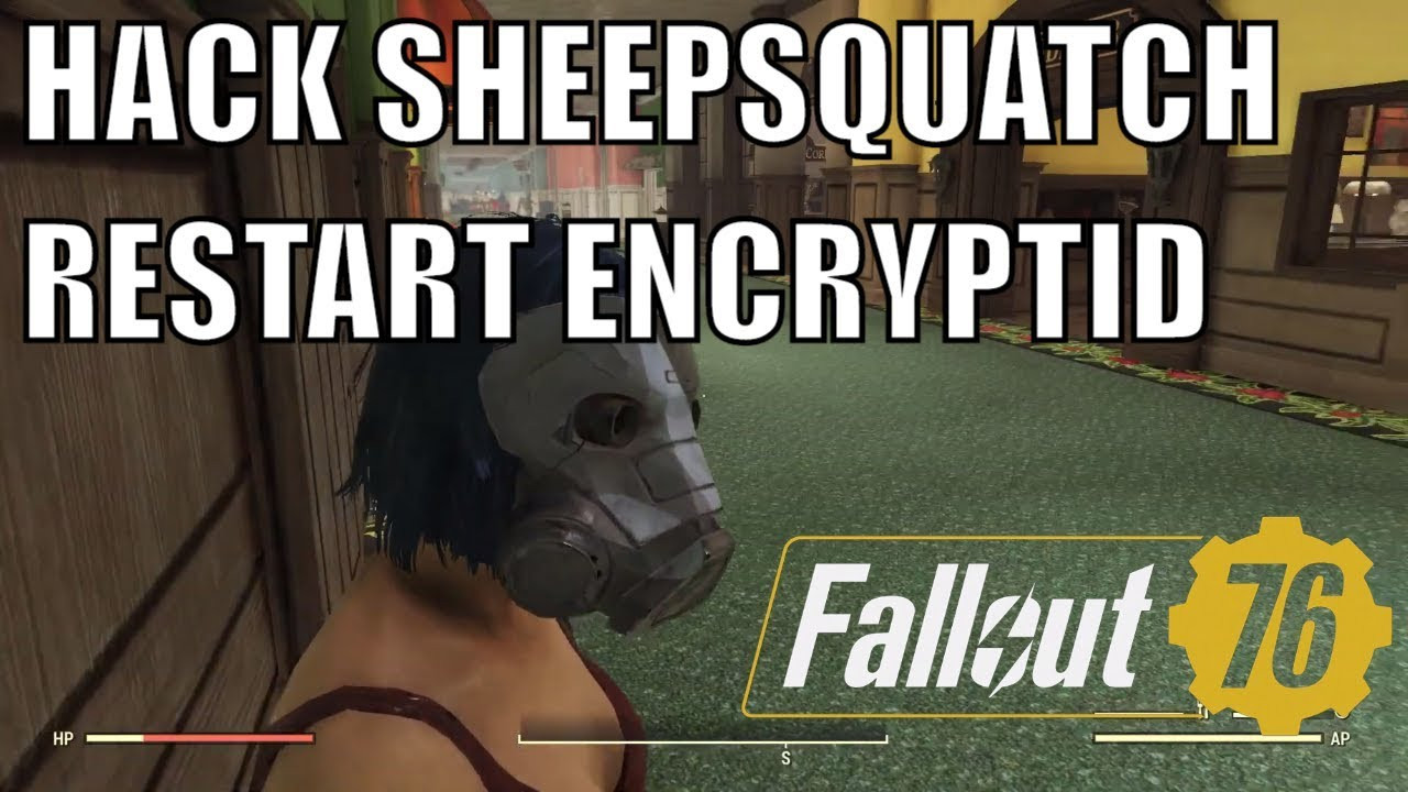 Radioactive Pumpkin Seeds Fallout 76  FALLOUT 76 HACKING SHEEPSQUATCH & HOW TO RESTART