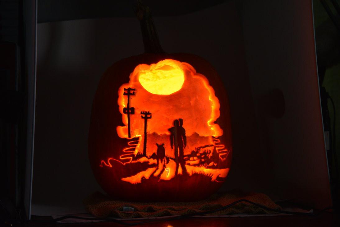 Radioactive Pumpkin Seeds Fallout 76  Fallout 3 Pumpkin by DJdrummer on DeviantArt