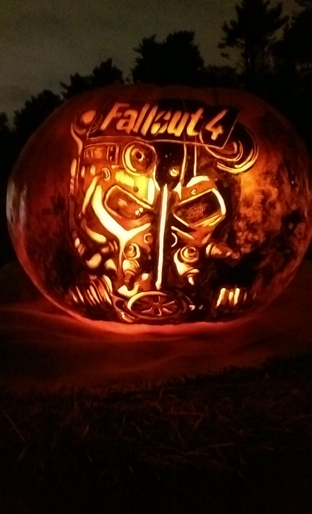 Radioactive Pumpkin Seeds Fallout 76  Fallout 4 Pumpkin Fallout Pinterest
