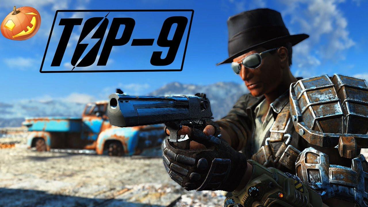 Radioactive Pumpkin Seeds Fallout 76  Fallout 4 Top 9 Pistol Mods
