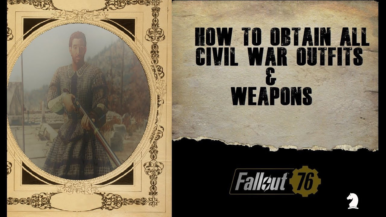 Radioactive Pumpkin Seeds Fallout 76  Fallout 76 All Civil War Outfits & Weapons Guide Black