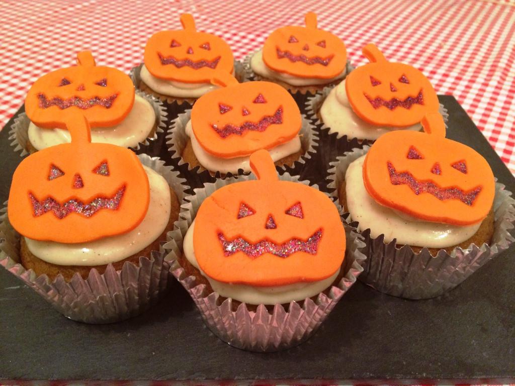 Recipe For Halloween Cupcakes  Halloween Pumpkin Cupcakes