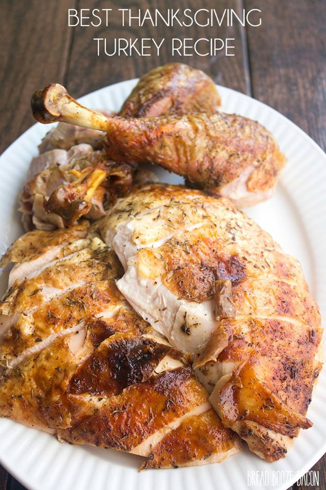 Recipe For Thanksgiving Turkey  Best Thanksgiving Turkey Recipe How to Cook a Turkey