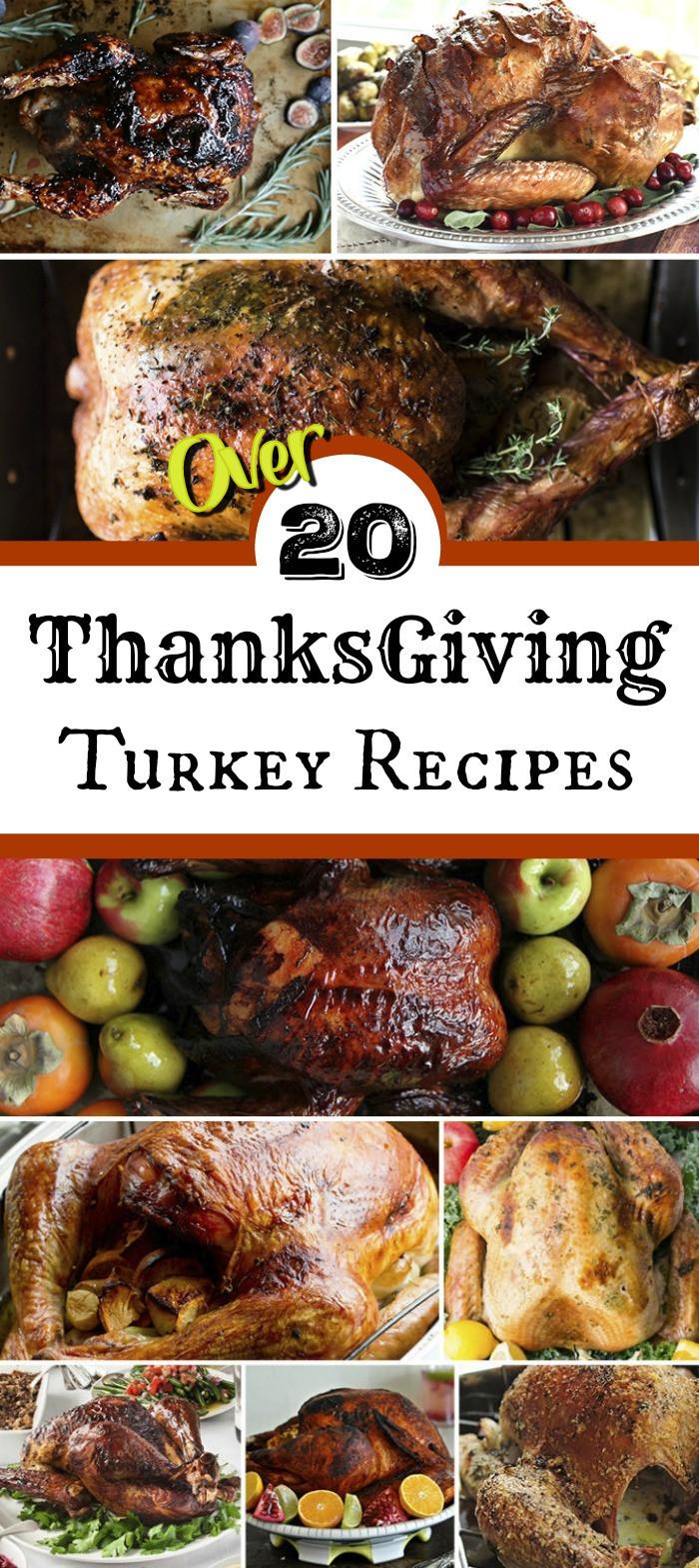 Recipe For Thanksgiving Turkey  Thanksgiving Turkey Recipes for the Best Thanksgiving