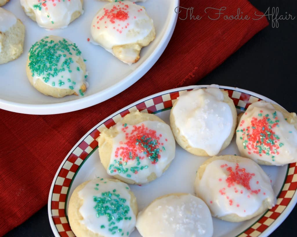 Ricotta Christmas Cookies  Ricotta Cheese Holiday Cookies