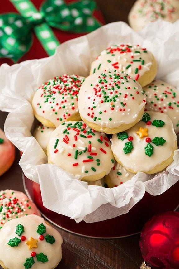 Ricotta Christmas Cookies  Italian Ricotta Cookies Cooking Classy