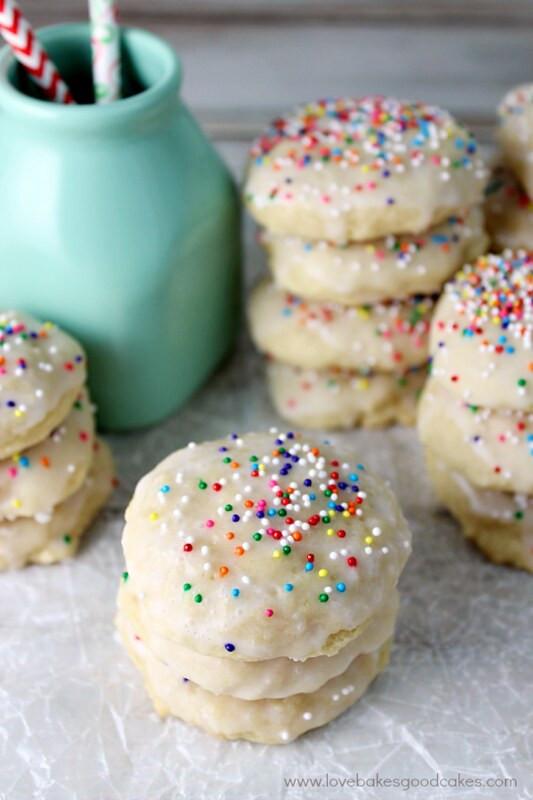 Ricotta Christmas Cookies  Italian Ricotta Cookies