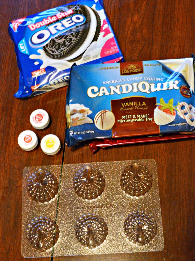 Riley Reid Christmas Cookies  Oreo Stuffed Candy Turkey Cookies Little Miss Celebration