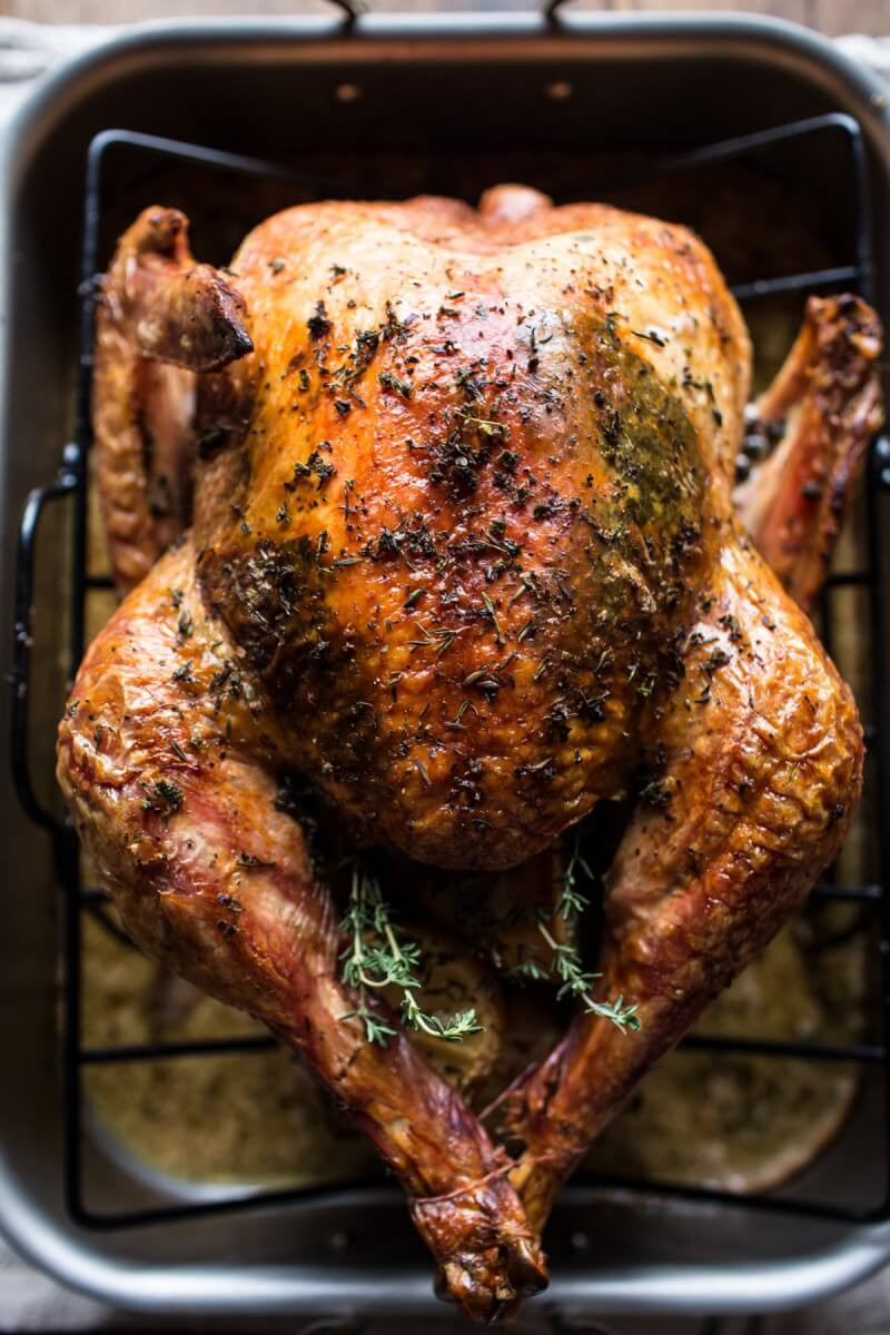 Roast Turkey Recipes Thanksgiving  Herb and Butter Roasted Turkey