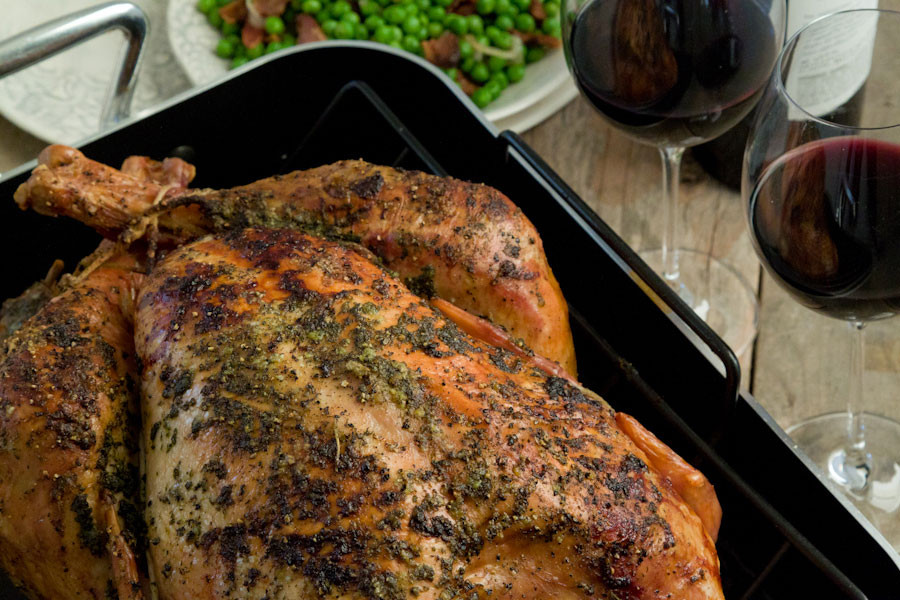 Roast Turkey Recipes Thanksgiving  Citrus and Herb Roasted Turkey Turkey 101