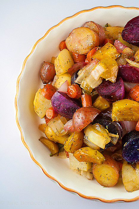 Roasted Fall Root Vegetables  Favorite Thanksgiving Side Maple Roasted Root