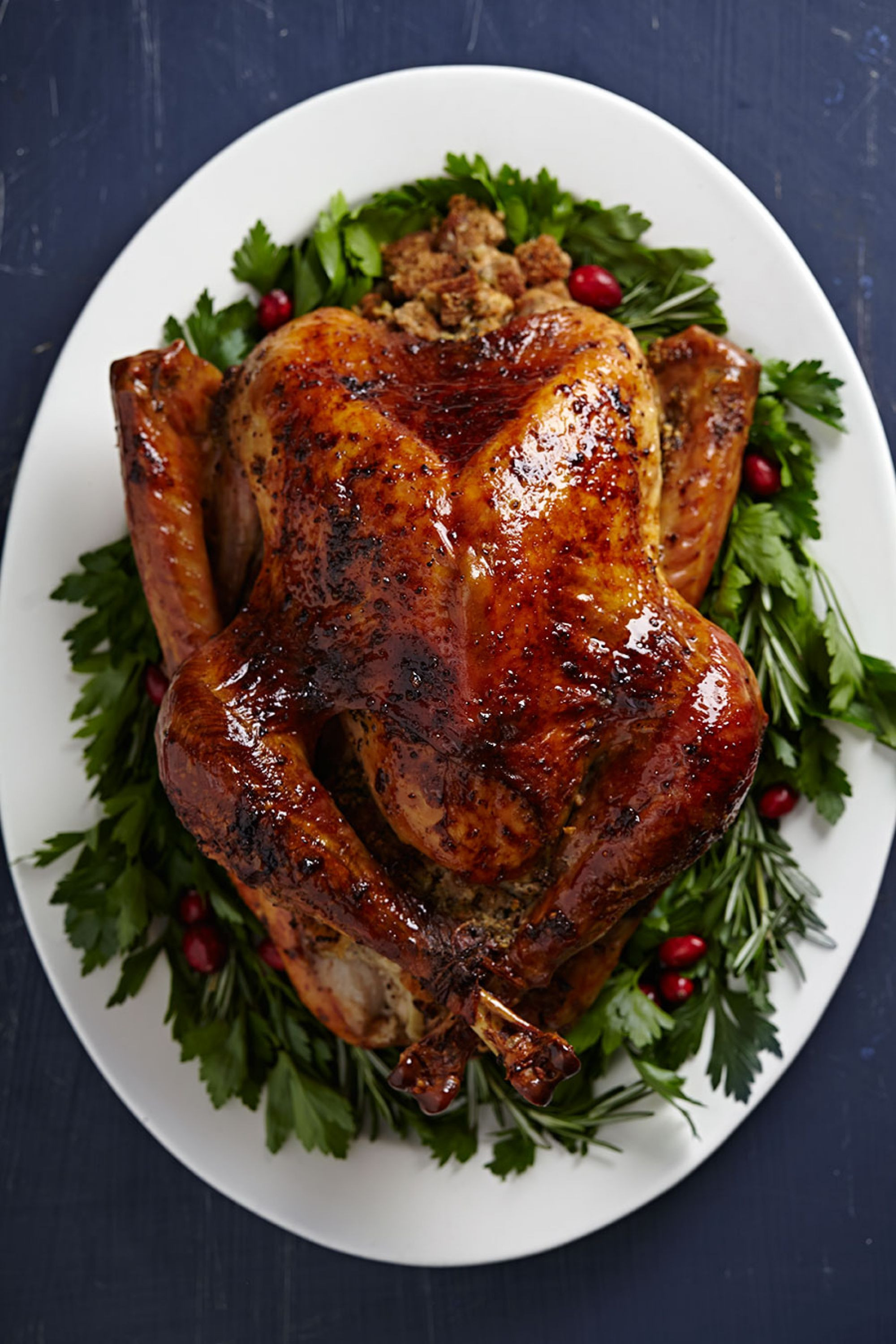 Roasted Thanksgiving Turkey  Planning a Thanksgiving Menu 25 Amazing Recipes