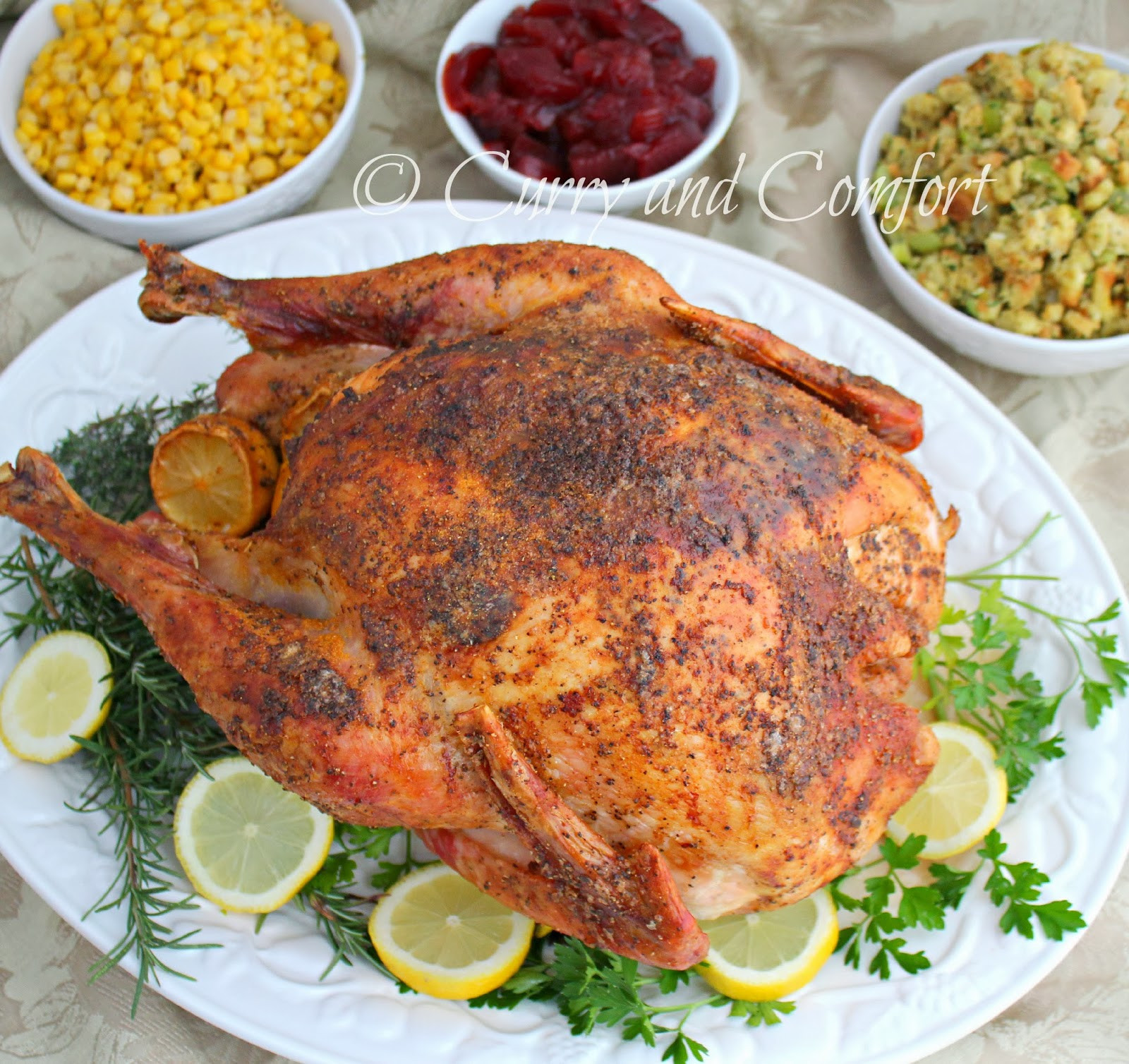 Roasted Thanksgiving Turkey  Kitchen Simmer Roasted Thanksgiving Turkey Let s Talk