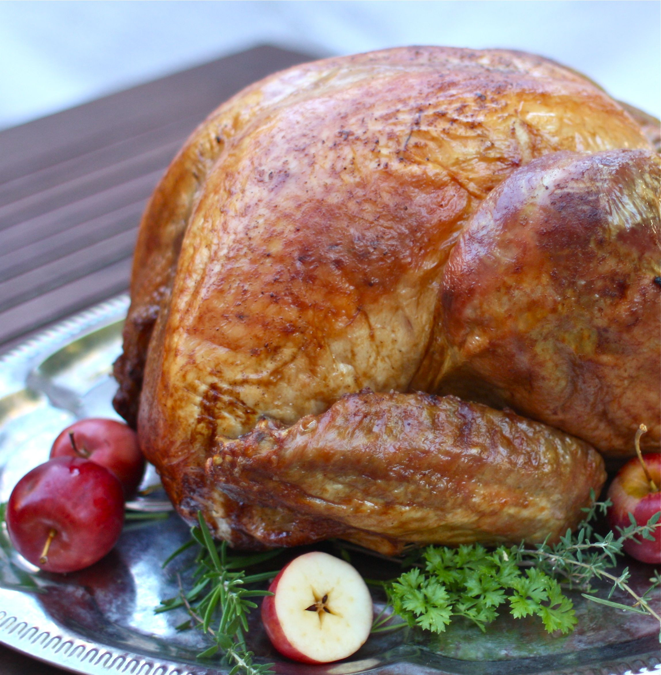 Roasted Thanksgiving Turkey  The Best Way to Roast a Turkey the simple way