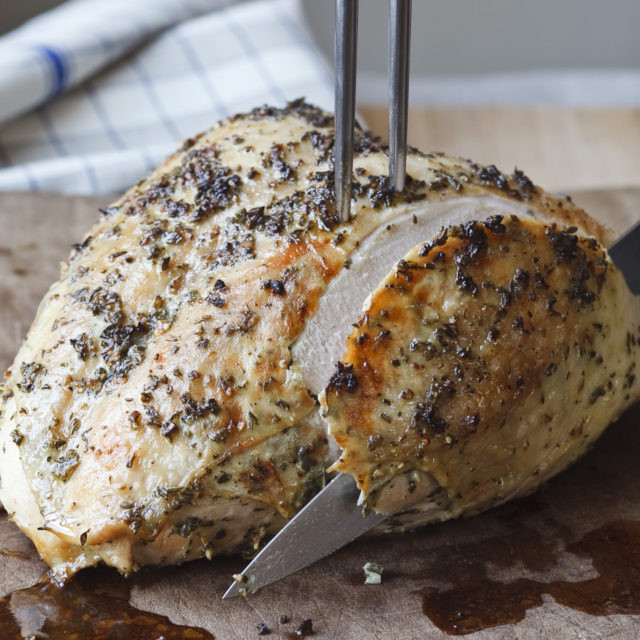 Roasted Turkey Recipes Thanksgiving  Herb Roasted Turkey Breast Recipes