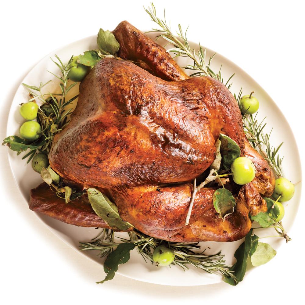 Roasted Turkey Recipes Thanksgiving  Roasted Turkey & Rosemary Garlic Butter Rub & Pan Gravy