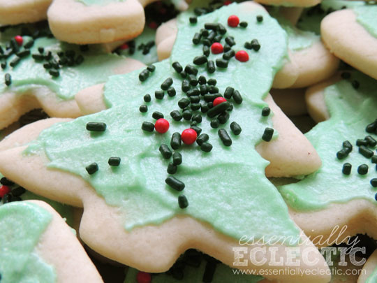 Roll Out Christmas Cookies  Old Fashioned Holiday Cookies Essentially Eclectic
