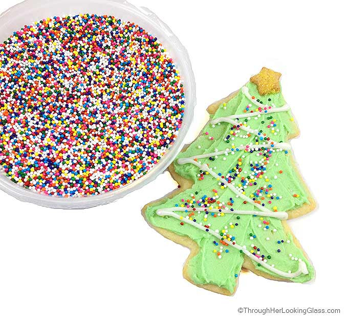 Roll Out Christmas Cookies  Decorated Christmas Roll Out Cookies Through Her Looking