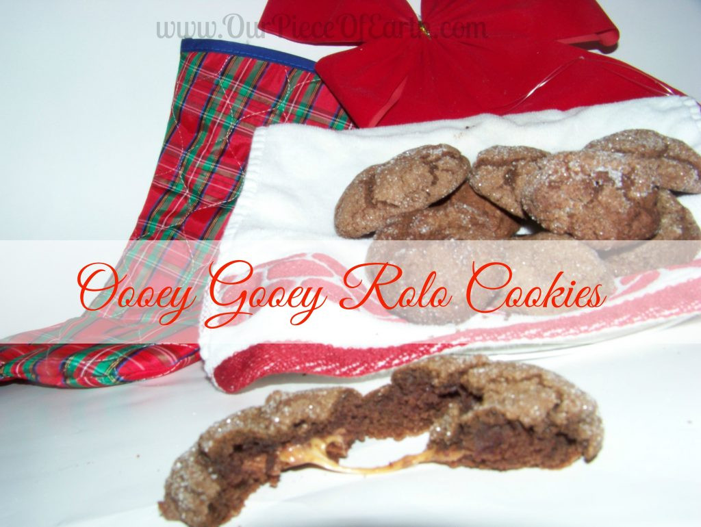 Rolo Christmas Cookies  A Christmas Cookie Favorite Rolo Cookies Our Piece of Earth