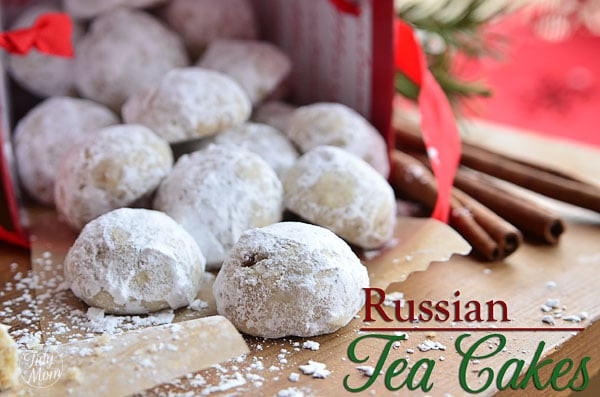 Russian Christmas Cookies  Russian Tea Cakes Holiday Cookie Recipe